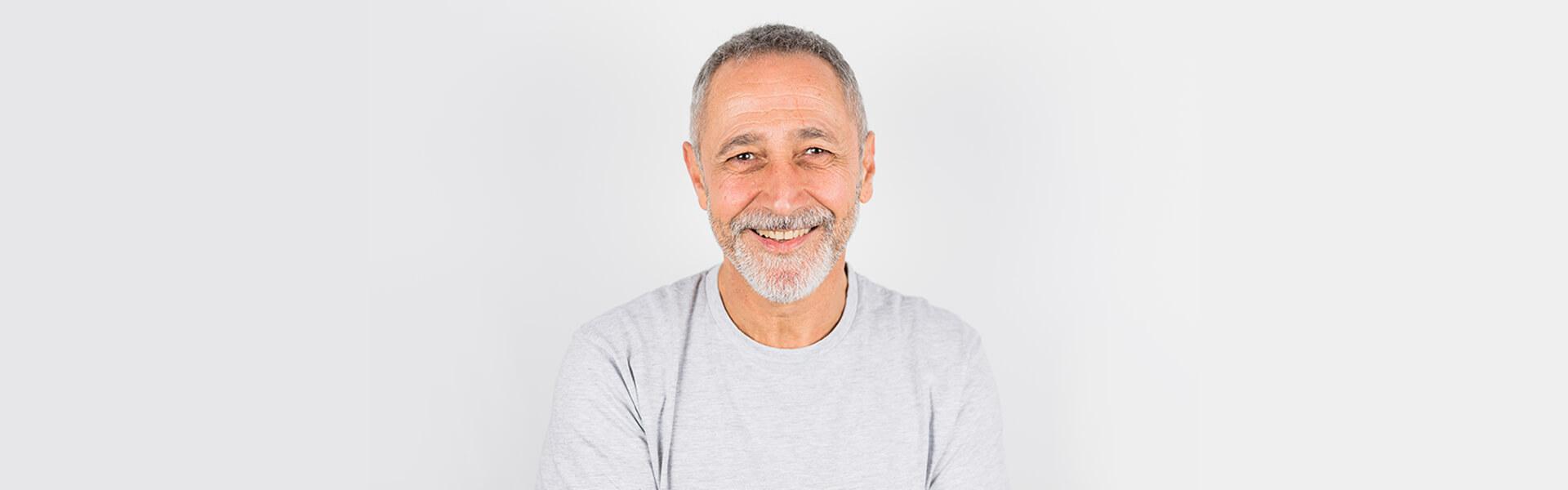 Smiling Aged Man